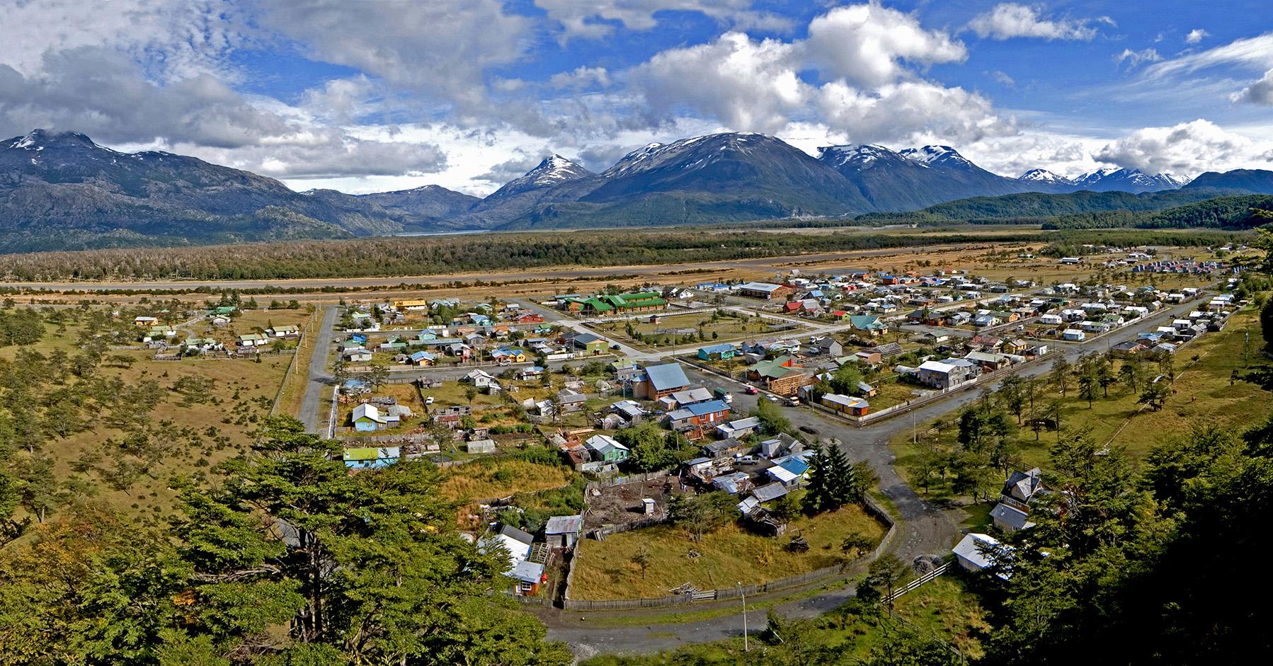 Villa O'Higgins, Chile.