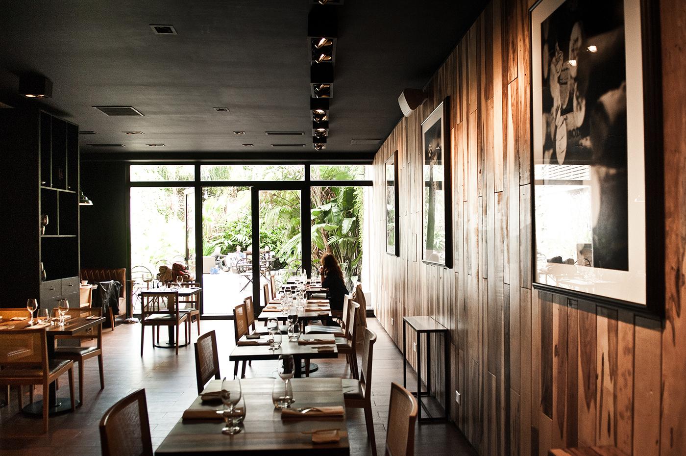 UCO Restaurant & garden view
