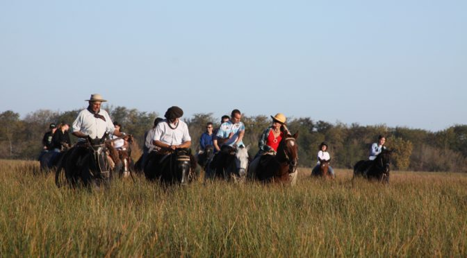 The Gaucho's Trail: Areco town and Estancia