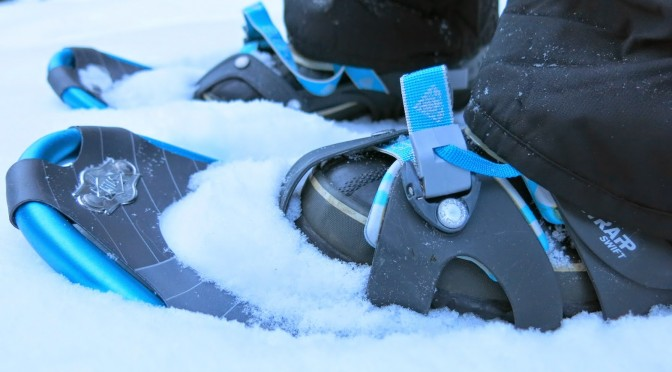 snowshoeing bariloche at Cerro Lopez